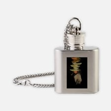 Egyptian rousette bat Flask Necklace