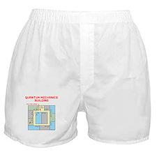 Quantum Mechanics Building Boxer Shorts
