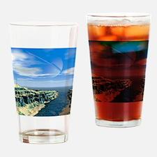 Earthlike moon, conceptual artwork Drinking Glass