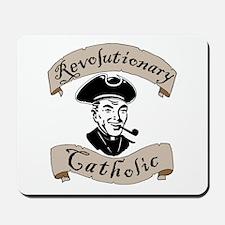 Revolutionary Catholic Mousepad