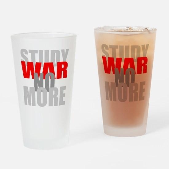 No More War Dark 2 Drinking Glass