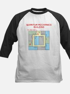 Quantum Mechanics Building Kids Baseball Jersey