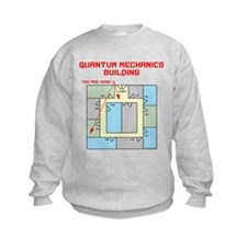 Quantum Mechanics Building Sweatshirt