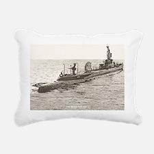 uss spinax ssr large fra Rectangular Canvas Pillow