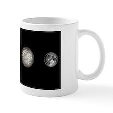 Earth, Moon and Mercury, artwork Mug