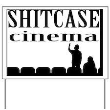 Shitcase Cinema Logo Yard Sign