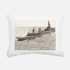 uss spinax ssr framed pa Rectangular Canvas Pillow