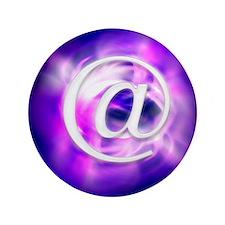 "E-mail symbol, abstract artwork 3.5"" Button"