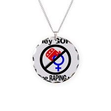 Just Say No! Necklace