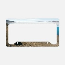 Driftwood and glacier, Canadi License Plate Holder