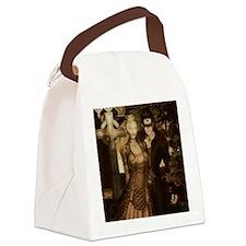 Steam Punk Couple Canvas Lunch Bag