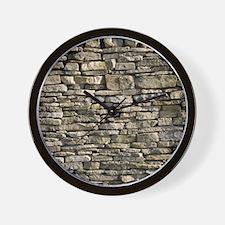 Dry stone wall, Dorset Wall Clock