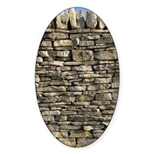Dry stone wall, Dorset Decal