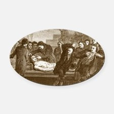 Dr. Andrew Ure(1778-1857) Oval Car Magnet