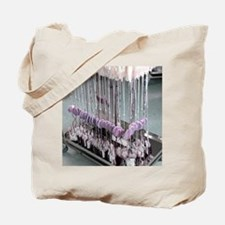 Donor blood processing Tote Bag