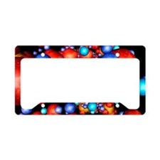 DNA molecule, conceptual artw License Plate Holder