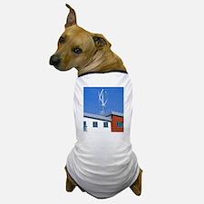 Domestic micro wind turbine Dog T-Shirt