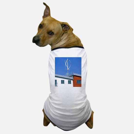 Domestic micro wind turbine Dog T-Shirt