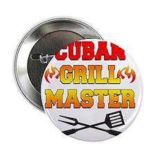 "Cuban Grill Master Apron 2.25"" Button"