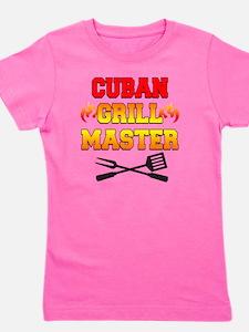 Cuban Grill Master Apron Girl's Tee
