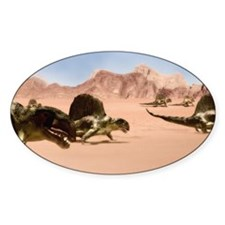 Dimetrodons, artwork Decal