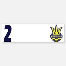 Ukraine Football Team Luzhny 2 Bumper Bumper Sticker