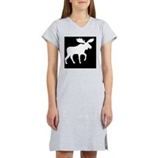 Moose Hitch Cover Women's Nightshirt