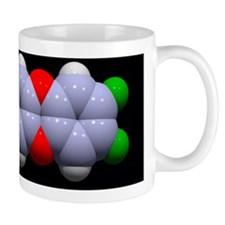 Dioxin molecule Mug