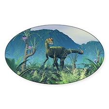 Dilophosaurus, artwork Decal
