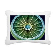 Diatom, SEM Rectangular Canvas Pillow