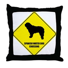 Spanish Crossing Throw Pillow