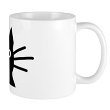 Black Cat Hitch Cover Mug