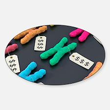 Designer chromosomes, conceptual ar Decal