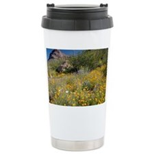 Desert wildflowers Travel Mug