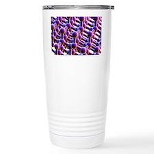 Diamond, crystalline structure Travel Mug