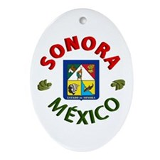 Sonora Oval Ornament