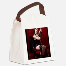 Burlesque, Card Canvas Lunch Bag
