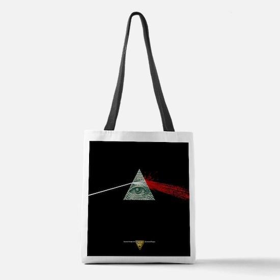 Dark Side of Money Polyester Tote Bag