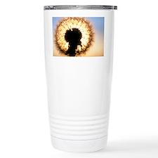 Dandelion seed-head, Taraxacum Travel Mug