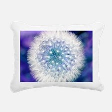 Dandelion seed head Rectangular Canvas Pillow