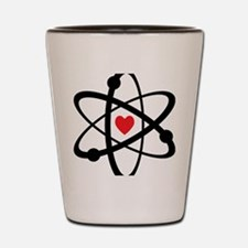 For the Love of Science Shot Glass