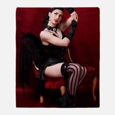 Burlesque Throw Blanket