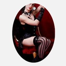 Burlesque, Phone Oval Ornament