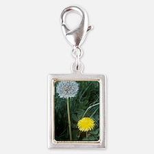 Dandelion (Taraxacum officin Silver Portrait Charm