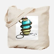 Dangers of drug abuse, conceptual image Tote Bag