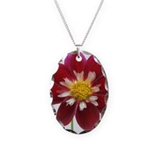 Dahlia 'Mary Eveline' flower Necklace