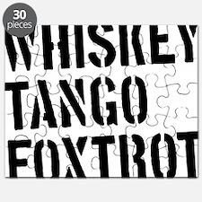WTF - Whiskey Tango Foxtrot Puzzle