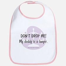 Daddy Lawyer Bib