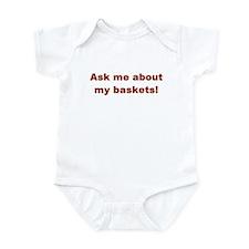 Cute Basket lady Infant Bodysuit