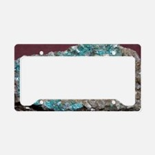 Cuprocassiterite in quartz mi License Plate Holder